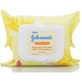 JOHNSON'S Hand & Face Wipes 25 Each - Thumbnail 0