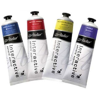 Chroma - Atelier Interactive Artists' Acrylic Color - 80ml Tube - Raw Umber