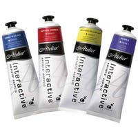 Chroma - Atelier Interactive Artists' Acrylic Color - 80ml Tube - Red Gold