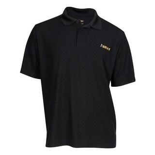 Rocky Western Shirt Men Quality S/S Polo Placket Stitched Logo LW00075