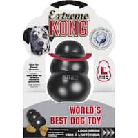 Kong Company Lrg Black Kong Dog Toy K1M Unit: EACH