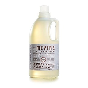 Mrs Meyers Clean Day 14531 Liquid Laundry Detergent, Lavender, 64 Oz
