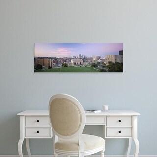 Easy Art Prints Panoramic Images's 'High Angle View Of A City, Kansas City, Missouri, USA' Premium Canvas Art