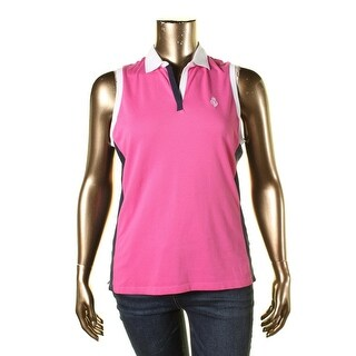 LRL Lauren Jeans Co. Womens Pullover Top Sleeveless Collared