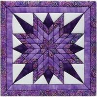 "12""X12"" - Starburst Quilt Magic Kit"