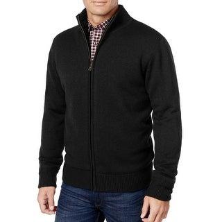 Weatherproof NEW Solid Black Mens Size Large L Sherpa Lined Jacket