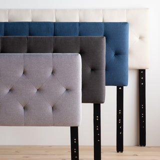 Link to Brookside Emmie Adjustable Upholstered Headboard Similar Items in As Is