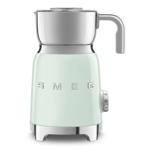 Smeg 50's Retro Style Aesthetic Milk Frother, Pastel Green