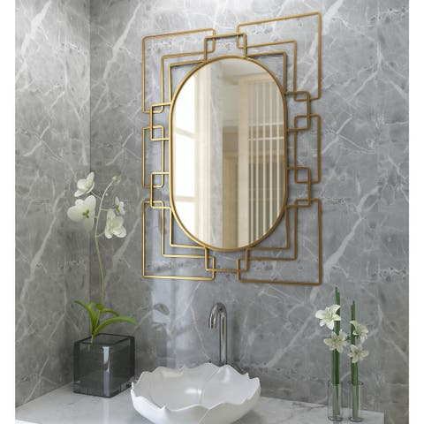 Deanna Gold Metal Mirror - 26 x 36