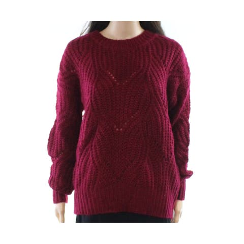 Promesa Deep Womens Medium Knitted Crewneck Sweater