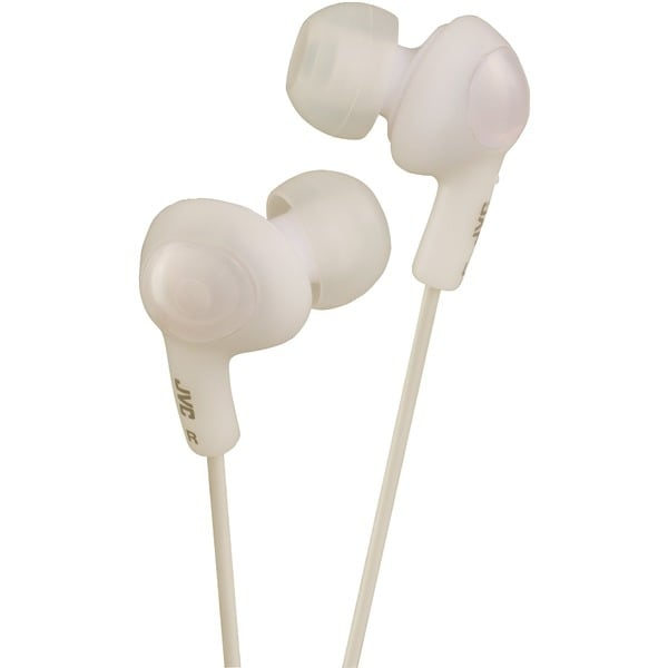 Jvc Hafr6W Gumy(R) Plus In-Ear Earbuds With Remote & Microphone (White)