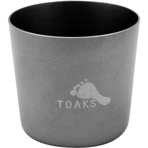 TOAKS Titanium Lightweight 30ml Shot Glass SG-01 - Outdoor Camping