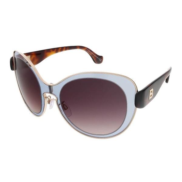 Balenciaga BA0002S 20T Grey/Havana Round sunglasses - 56-19-140