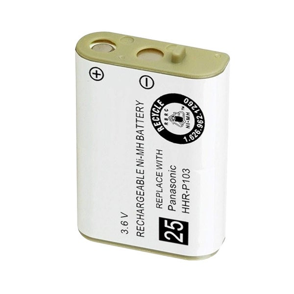 Replacement For VTech 89-1324-00-00 Cordless Phone Battery (800mAh, 3.6V, NiMH)