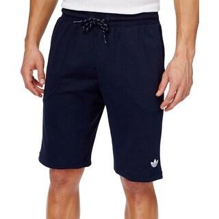 Adidas Mens Athletic Shorts Signature Comfort Waist