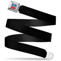 Mopar Chrysler Logo Full Color White Blue Red Black Webbing Seatbelt Belt Seatbelt Belt