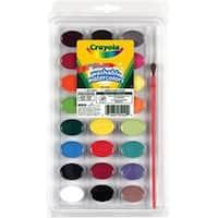 24 Colors - Crayola Washable Watercolors