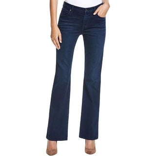 7 For All Mankind Womens Kimmie Bootcut Jeans Form Fitted Mid-Rise