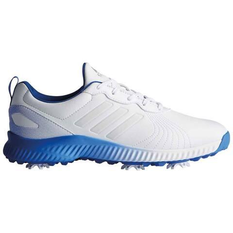 New Adidas Women's Response Bounce Cloud White/Cloud White/Hi-Res Blue Golf Shoes F33665