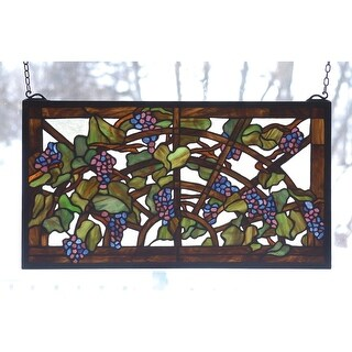 Meyda Tiffany 78088 Stained Glass Tiffany Window from the Tiffany Window Collection