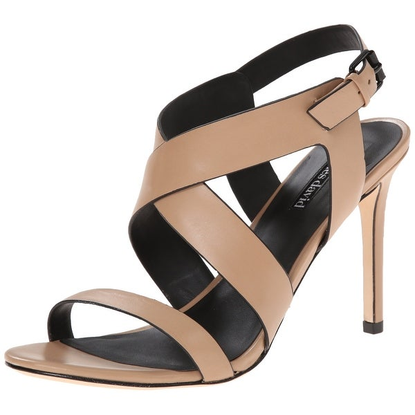 Charles David NEW Beige Shoes Size 5.5M Ivette Strappy Heels