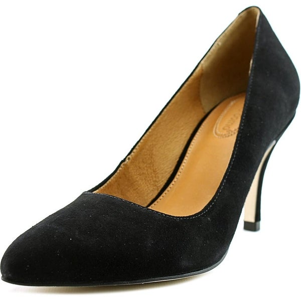 Corso Como Corrina Women Pointed Toe Suede Black Heels