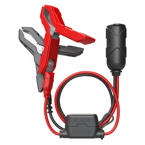 Noco GC017 12V Plug with Battery Clamps 12V Plug with Battery Clamps