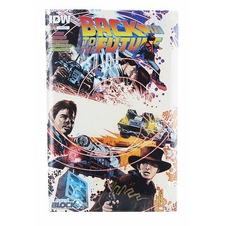 Back To The Future Issue #1 Comic Book (1:10 Variant Cover) - multi
