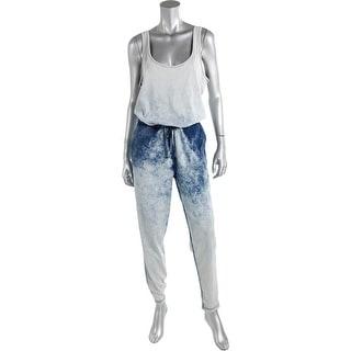 Kiind Of Womens Isabella Pull On Sleeveless Jumpsuit - L