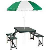 Stansport Picnic Table And Umbrella Combo Pack 615