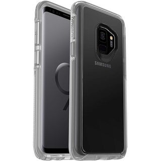 OtterBox Symmetry Case & Alpha Glass Screen Protector Samsung Galaxy S9 (NOT S9 PLUS) - Clear