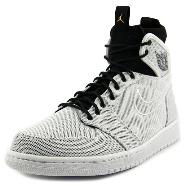 Jordan Jordan 1 Retro Ultra High Men  Round Toe Leather White Basketball Shoe
