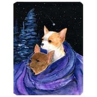 Starry Night Chihuahua Mouse Pad