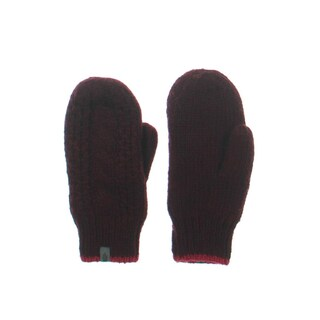 The North Face Womens W Cable Knit Mittens Solid Fleece - S/M