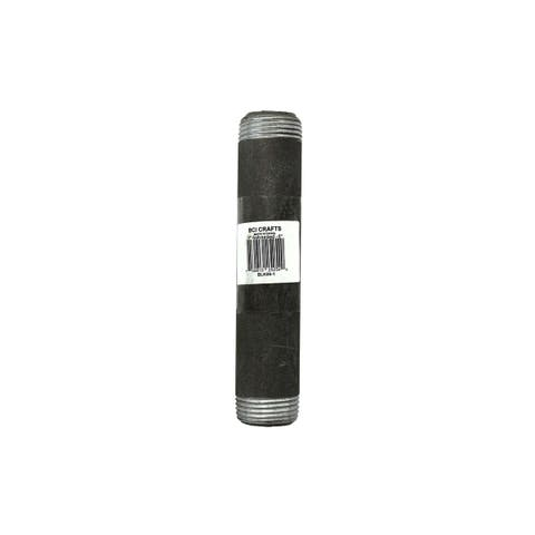 Blk06-1 bci crafts galvanized pipe 1x6 black