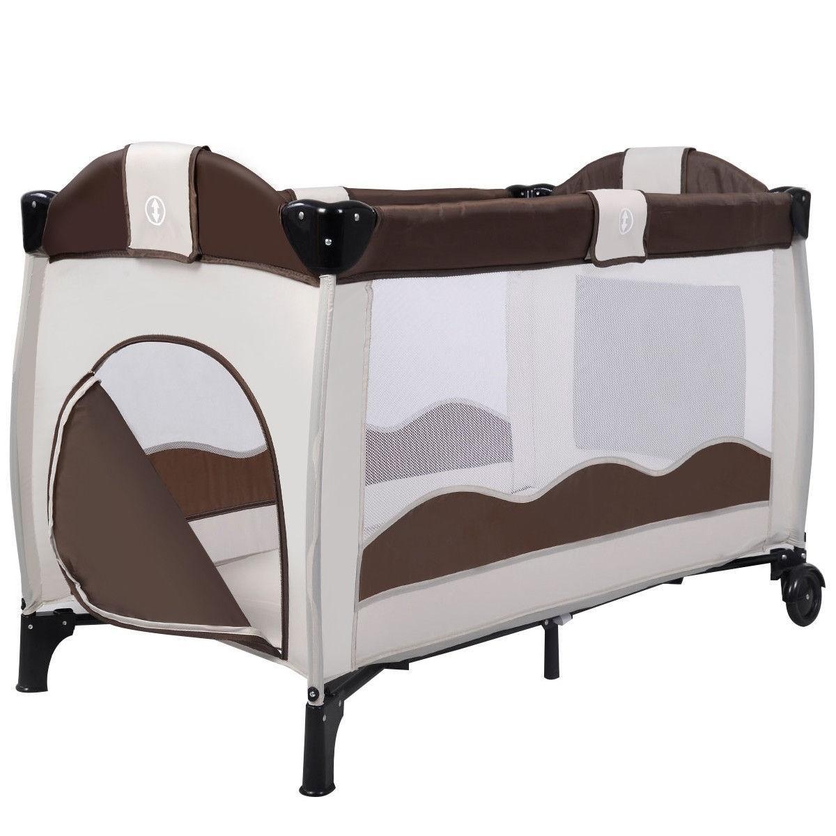 - Shop Baby Crib Playpen Playard Pack Travel Infant Bassinet Bed