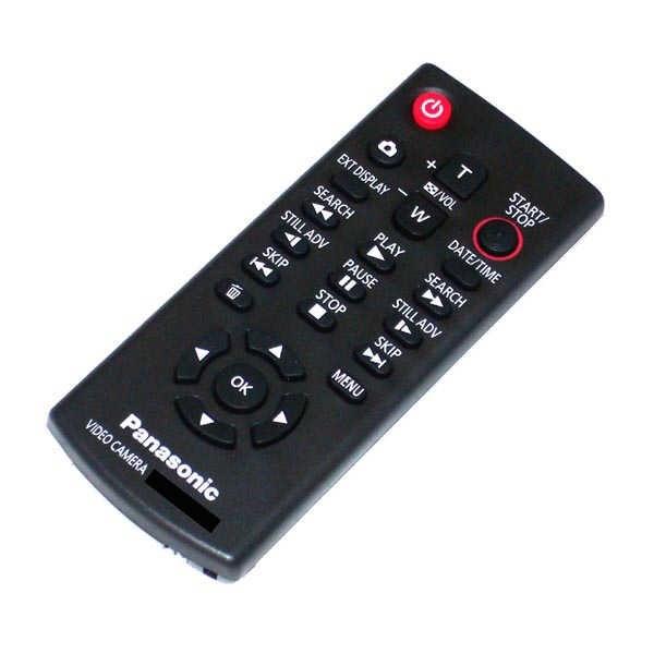 OEM Panasonic Remote Control Originally Shipped With: HDCHS20, HDCHS250K, HDCHS300K, HDC-HS20, HDC-HS250K, HDC-HS300K