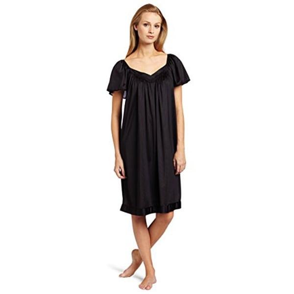 Shop Vanity Fair Women\'s Coloratura Sleepwear Short Flutter Sleeve ...