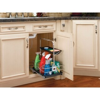 Rev-A-Shelf 544-10C-1 544 Series Removable Under Sink Caddy with - Chrome