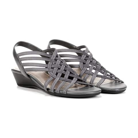 Naturalizer Womens Remix Open Toe Casual Slingback Sandals