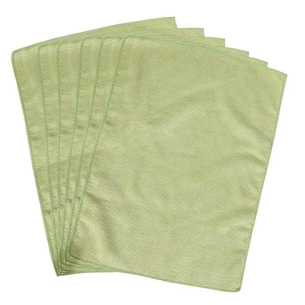 "Cleaning Cloth Towels 6pcs, 15.7"" x 11.8"" Highly Absorbent Dish Cloths Green - 6pcs"