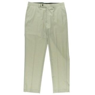 Calvin Klein Mens Deep Pocket Wool Dress Pants