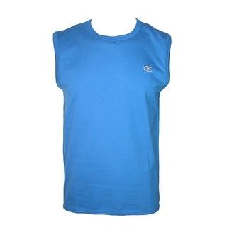 Champion Men's Cotton Jersey Sleeveless Muscle Tank Shirt