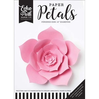 Large Pink Dahlia - Echo Park Paper Petals