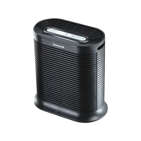 Honeywell HPA200 True HEPA Large Room Air Purifier With Allergen Remover (Black)