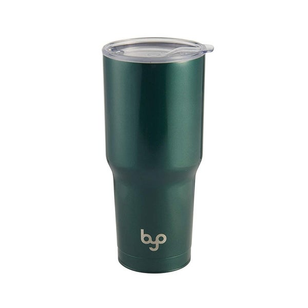 c3a634090c6 BYO Double Wall Stainless Steel Vacuum Insulated Tumbler With Spill Proof  Tritan Lid for Hot &