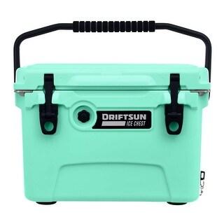Driftsun 20 Quart Ice Chest / Heavy Duty Cooler / High Performance Commercial Grade Insulation (Seafoam)