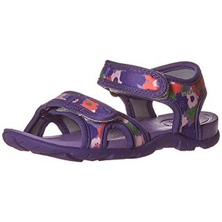 Bogs Whitefish Toddler Girls Floral Print Sport Sandals - 12 medium (b,m)