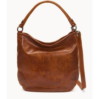 Frye Womens Melissa Hobo Bag, Cognac, Os