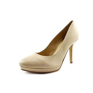Marc Fisher Magola Round Toe Leather Heels